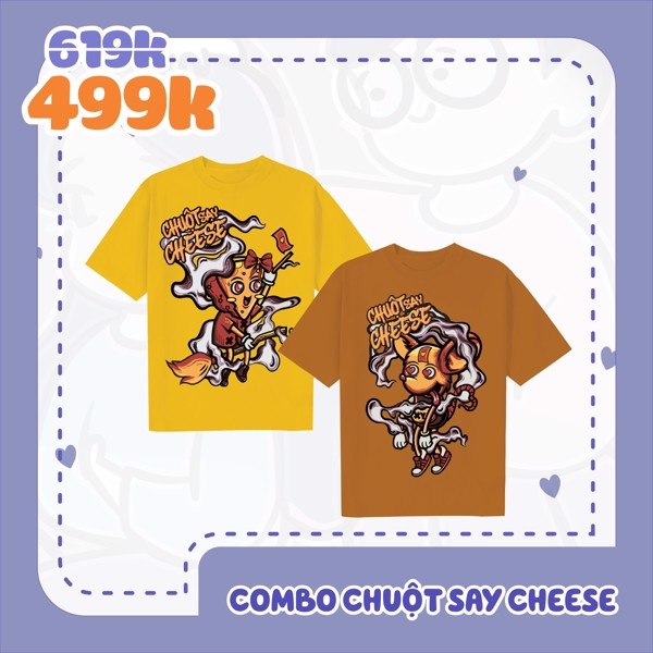 Combo: Chuột Say Cheese