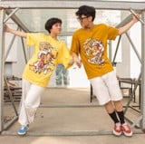 Couple tee season 2: Chuột Say Cheese