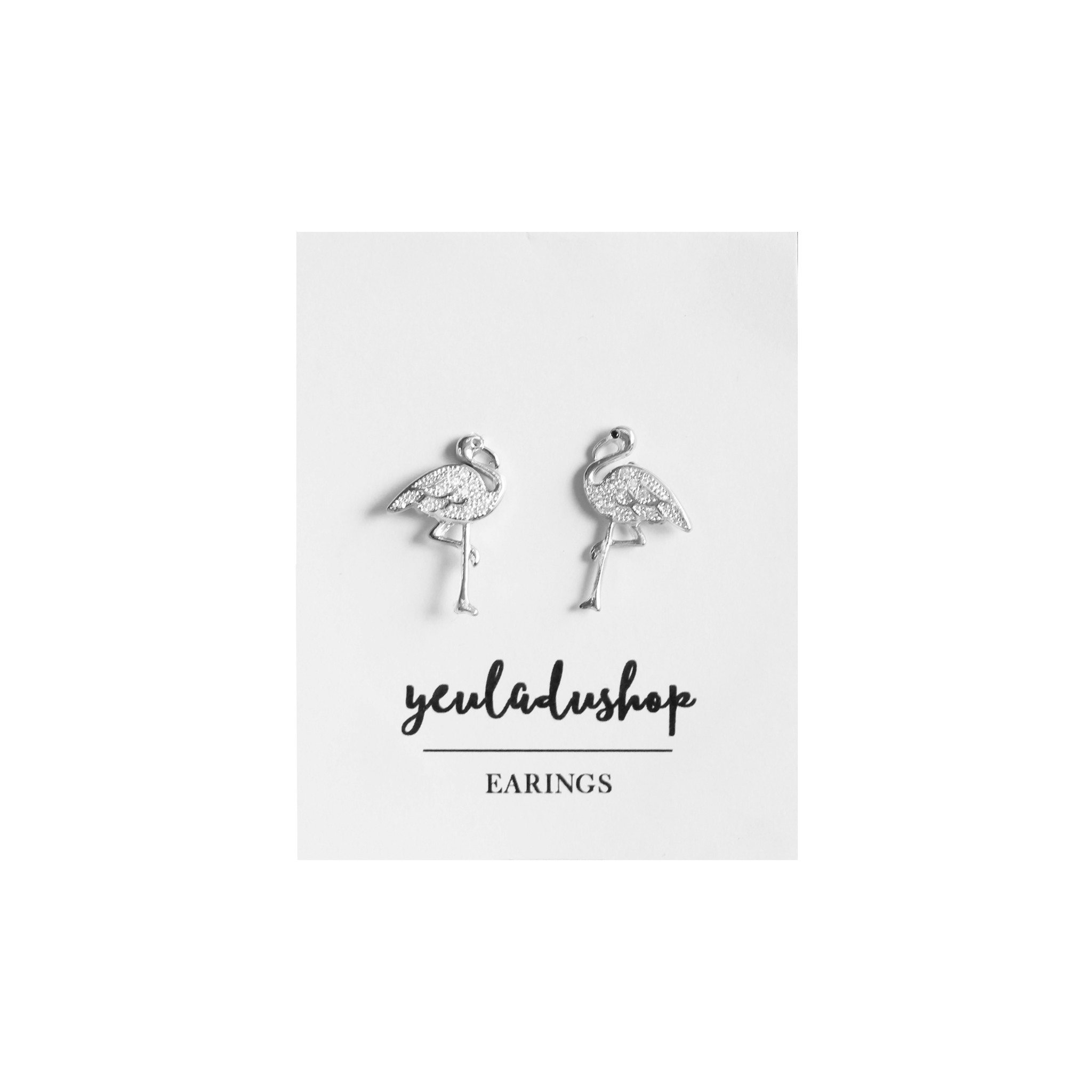 [SOLD OUT] Flamingo Earings - Yêu Là Đủ Regular