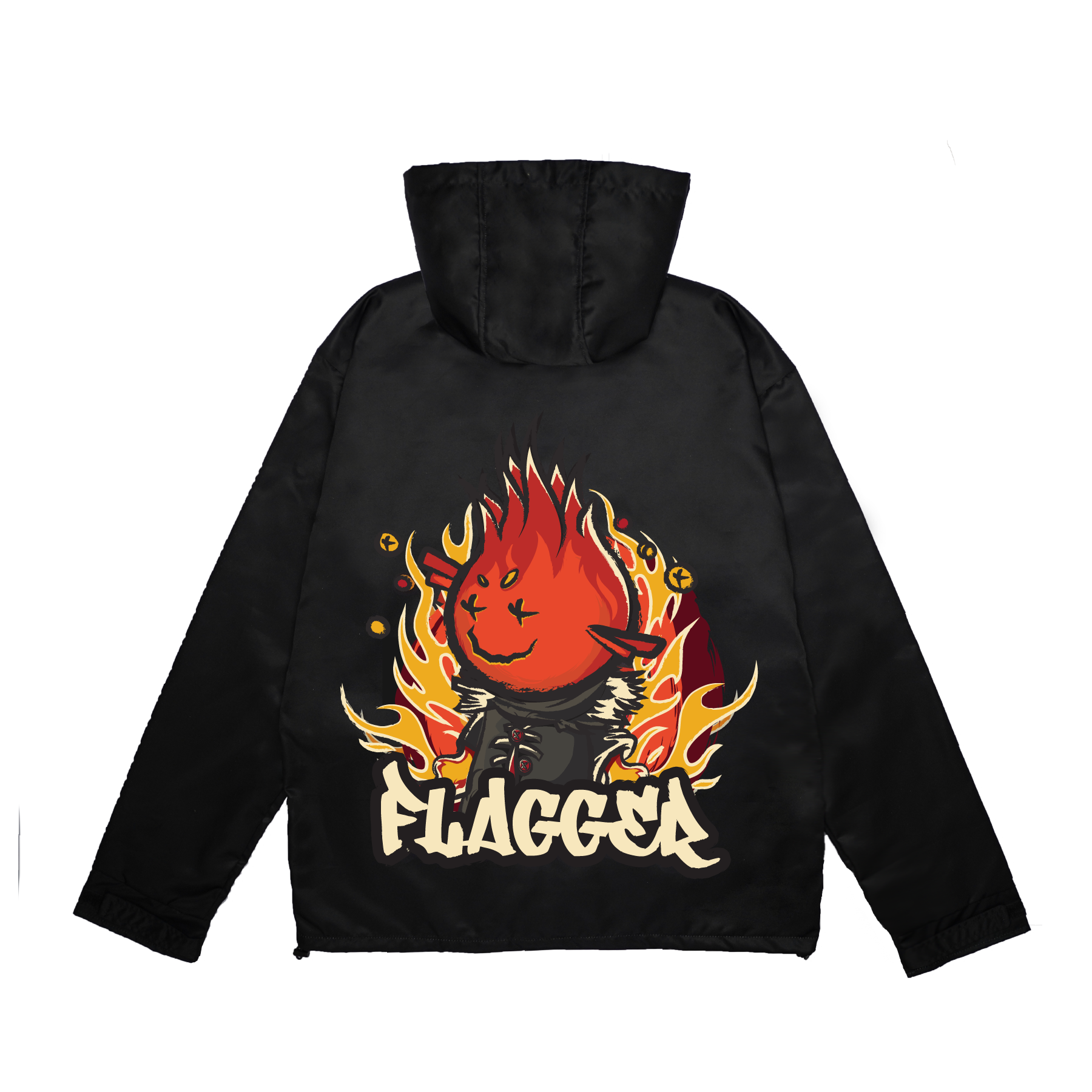 Flagger Jacket - The eternal flame