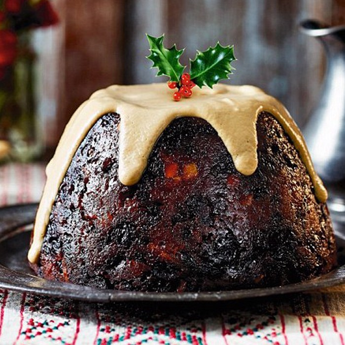 Christmas Pudding, Brandy Sauce