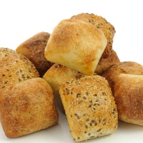 Selection of Freshly Baked Rolls and Butter, 8pcs