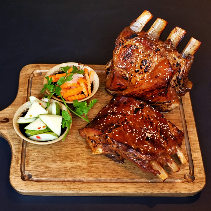 Hot Dishes -  Grilled Pork ribs, 800gr