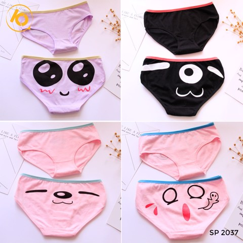Quần chip cotton in hình siêu cute 9300