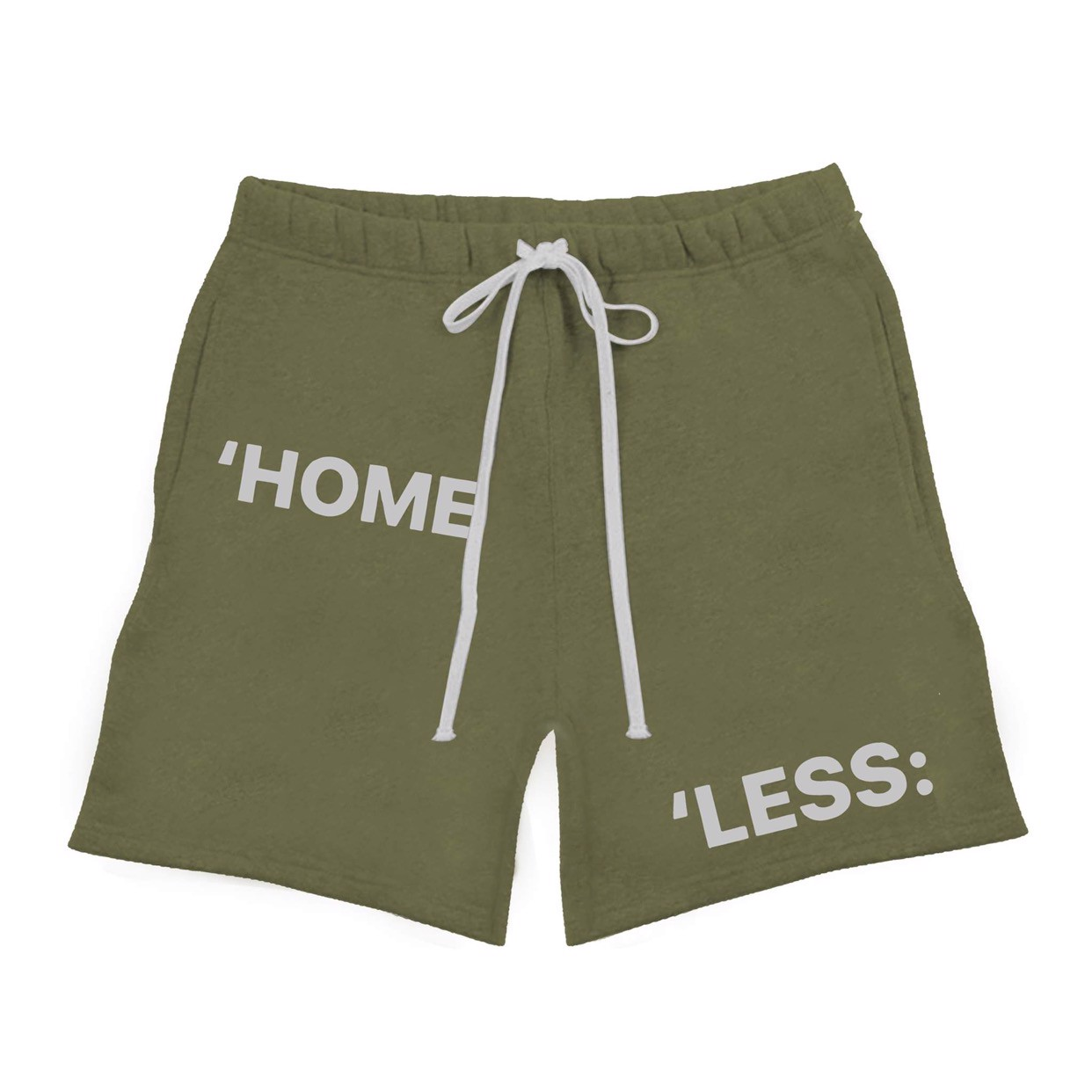 SWEAT SHORT/OLIVE