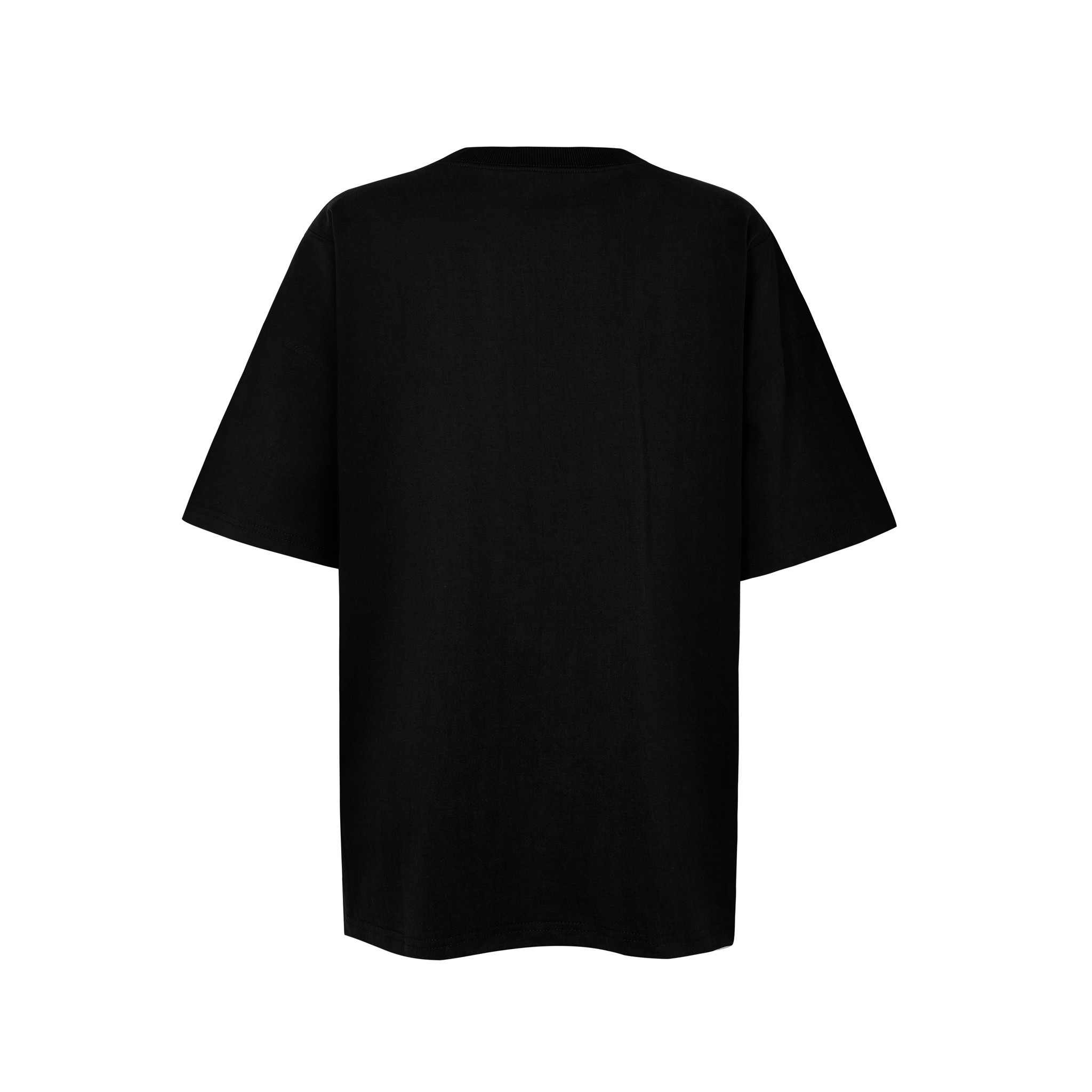 INSIDE OUT TEE/BLACK
