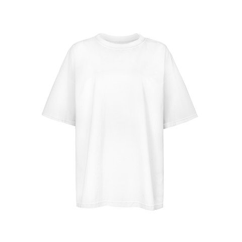 INSIDE OUT TEE/WHITE