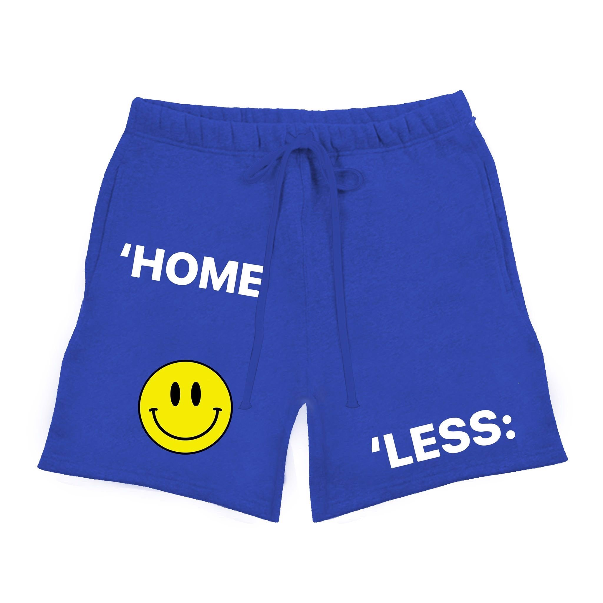 SWEAT SHORT/BLUE