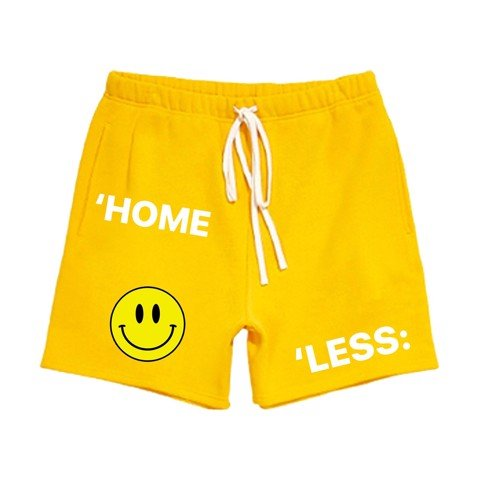 SWEAT SHORT/ YELLOW