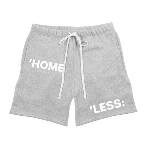 SWEAT SHORT/GREY