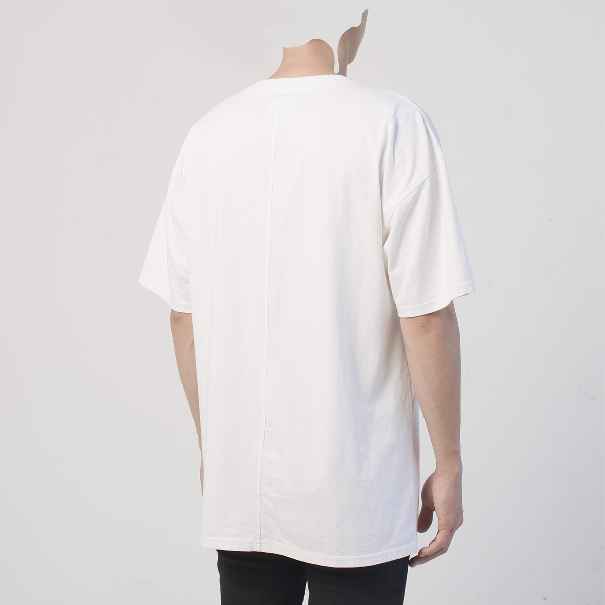 OVERSIZE TEE/DIRTY WHITE