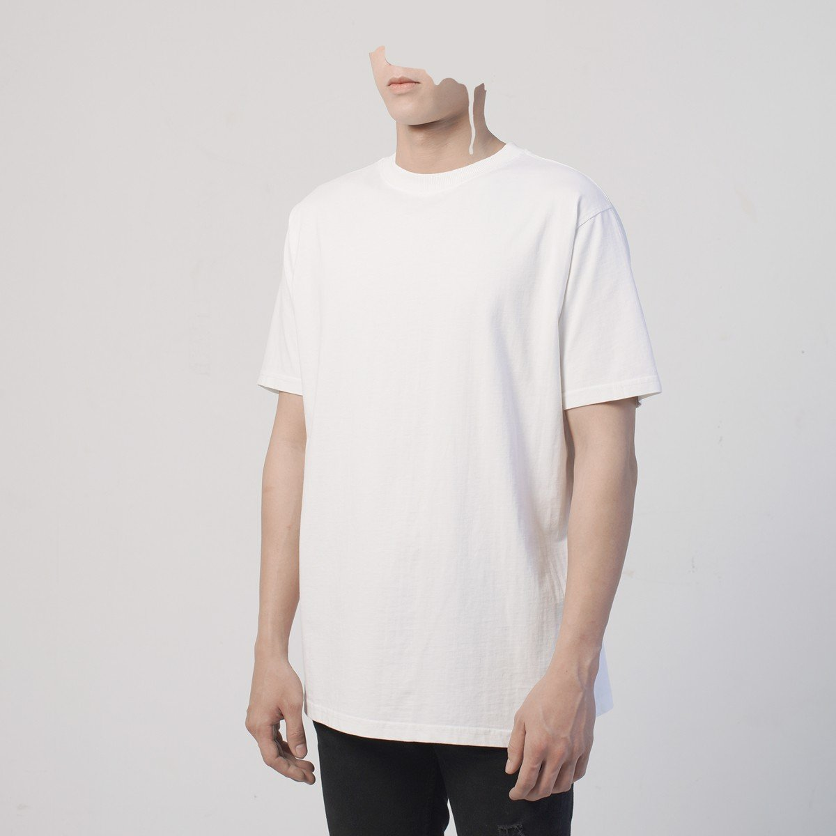 BASIC TEE/DIRTY WHITE