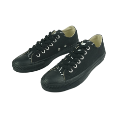 LT02 - Black Zed Low Top