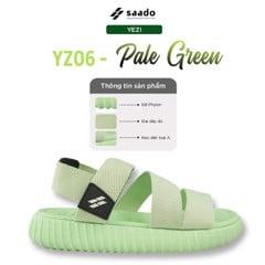 [Yezi] YZ06 - Pale Green - Sandal SAADO