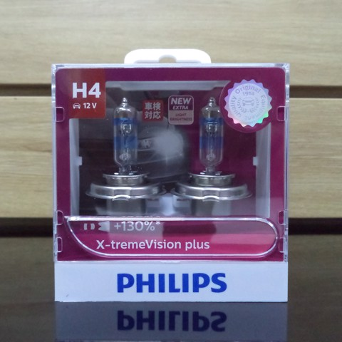 Bóng đèn Philips X-treme Vision Plus H4
