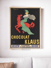 chocolat klaus by ad ap phich quang cao xua vintage poster