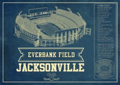 everbank jaguars seating chart stadium print