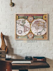 old map 106 by antique maps