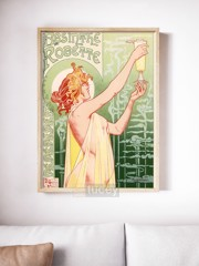 absinthe robette by ad ap phich quang cao xua vintage poster