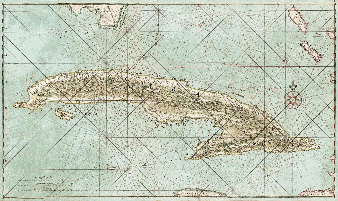 map of the complete island of cuba maps