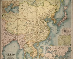 map of china ready vintage asia maps