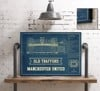 manchester united seating chart stadium print