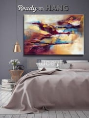 tranh truu tuong in tren canvas abstract