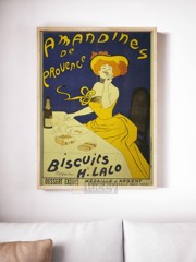 amandines ap phich quang cao xua vintage poster