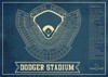 la dodgers seating chart stadium print