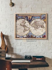 old map 100 by antique maps