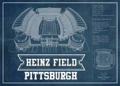heinz stadium black seating chart stadium print