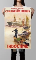 chargeurs reunis indochine c1952