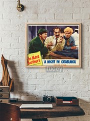 a night in casablanca vintage movie poster ap phich quang cao xua vintage poster