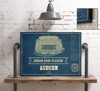 auburn seating chart stadium print