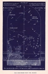 north march constellations science