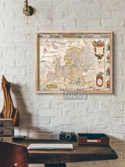old map 104 by antique maps