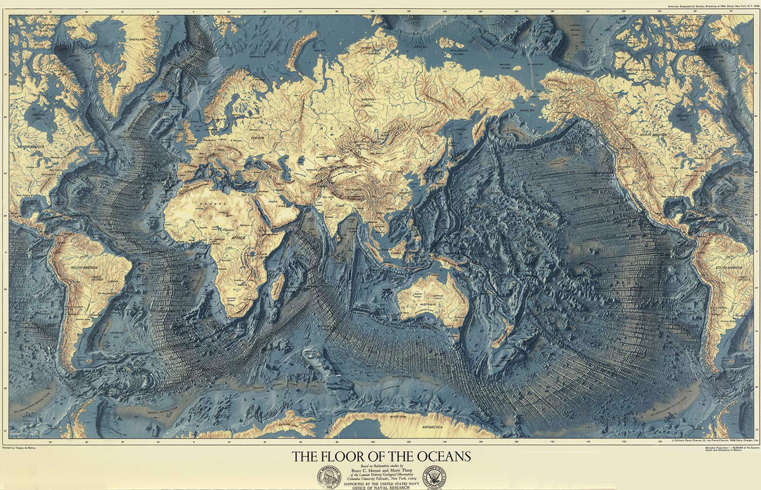 floor of the oceans