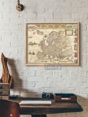 old map 105 by antique maps