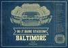 baltimore ravens seating chart stadium print