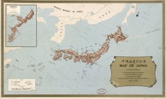 map of japan 1972 vintage asia maps