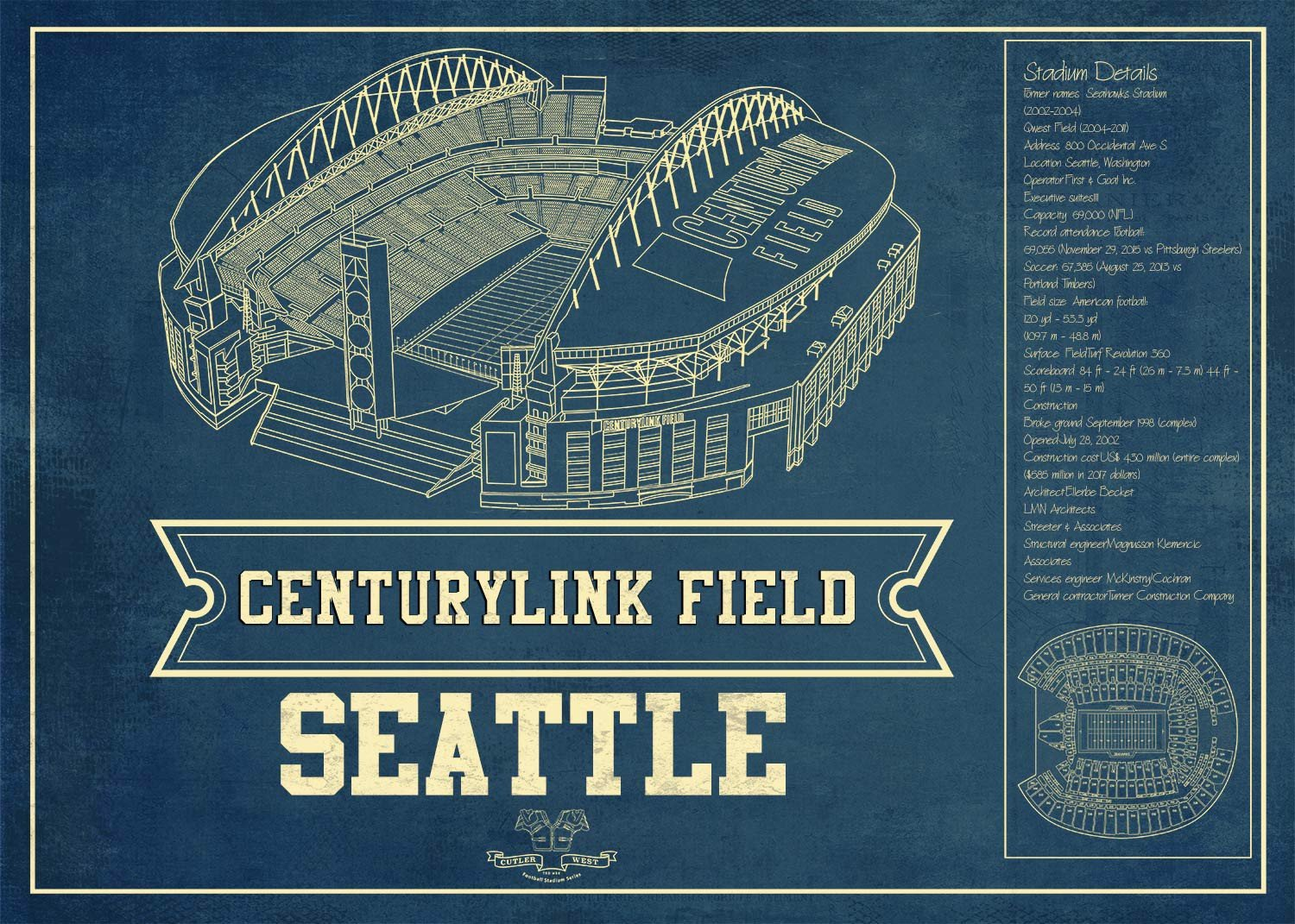 seattle centurypark seating chart stadium print