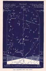 east april constellations science