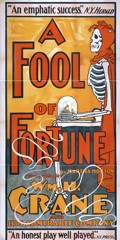 a fool of fortune vintage movie poster ap phich quang cao xua vintage poster