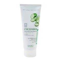 Sữa rửa mặt dưa leo Dabo Cucumber Natural Rich Foam Cleanser 3in1 180ml