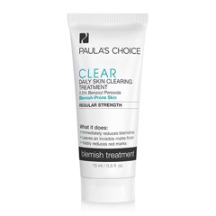 Kem trị mụn sưng đỏ cho da nhạy cảm Paula's Choice Clear Regular Strength Daily Skin Clearing Treatment