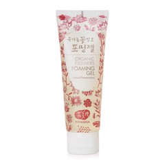 Gel rửa mặt Whamisa Organic Flowers Foaming Gel 133g