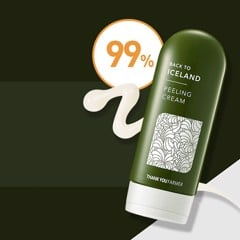 Kem tẩy tế bào chết Thank You Farmer Back To Iceland Peeling Cream 150ml