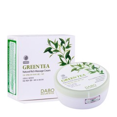 Kem massage trà xanh Dabo Green Tea Natural Rich Massage Cream 200ml