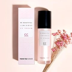 Kem nền CC đa năng Thank You Farmer Be Beautiful Luminous CC Cream 40ml