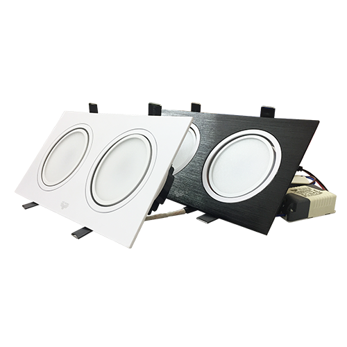 Đèn LED Downlight Đôi Model 2
